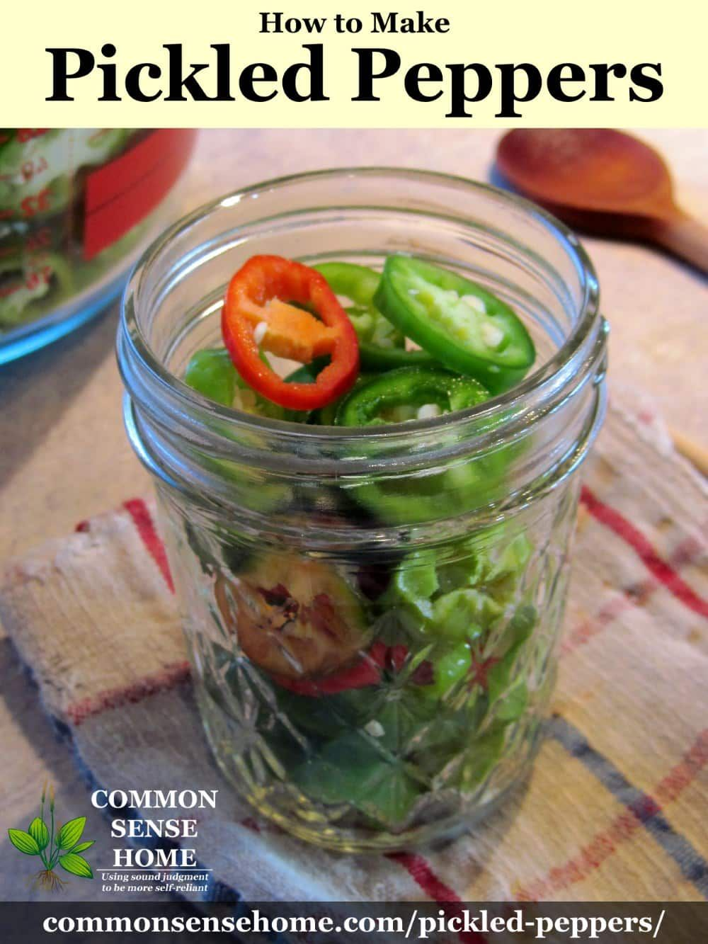 Pickled Peppers Recipe For Canning Just Four Ingredients Recipe Stuffed Peppers Canning Recipes Stuffed Hot Peppers