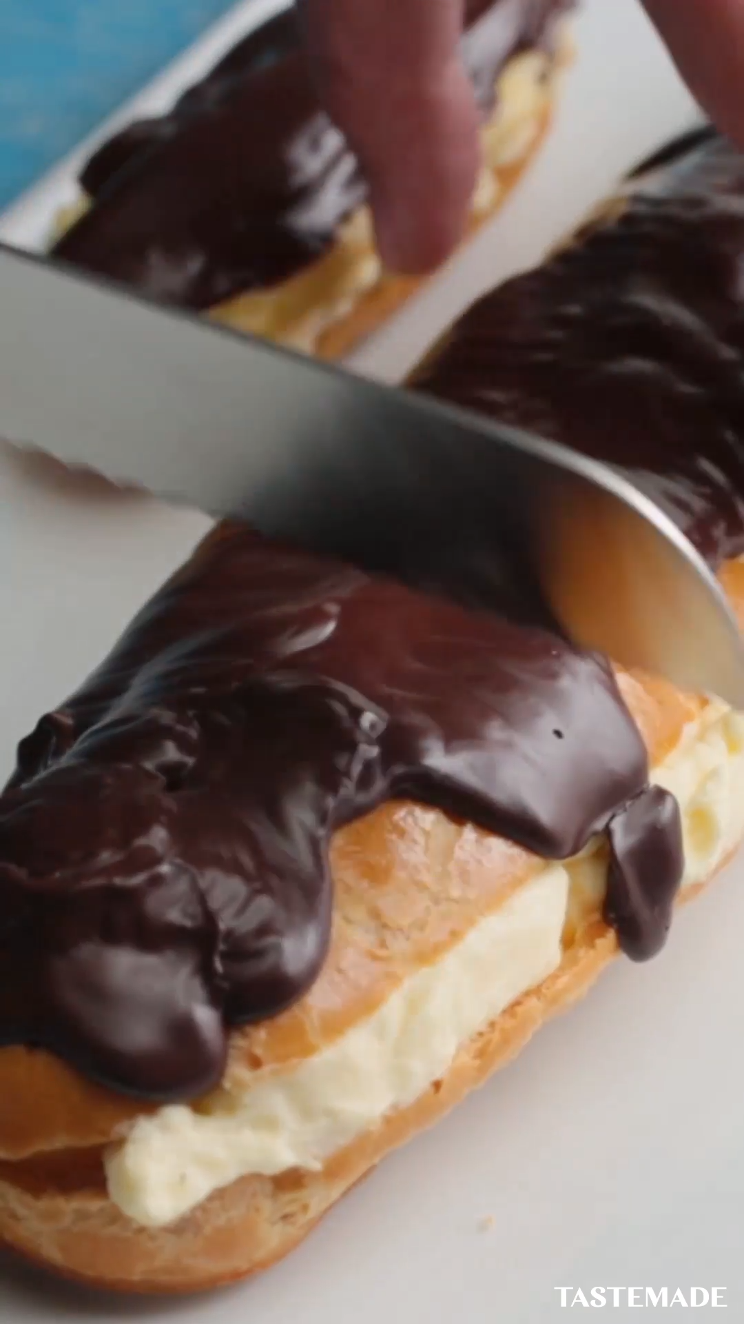 Photo of Giant Chocolate Eclair