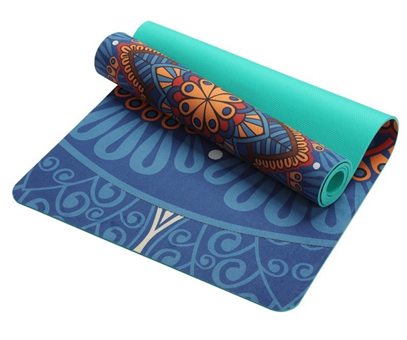 Yoga Beginner Fitness Mat Three Piece Cushion Children Yoga Equipment Non Slip Tasteless Suede Dance Mat Fancy Mat Yoga Mat Gymnastics Mats Thick Yoga Mats