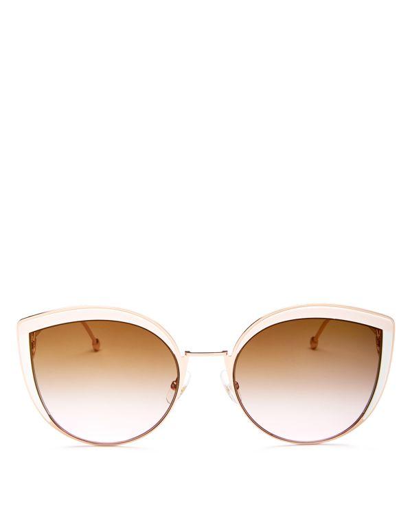 b3c157a8f6c1 Fendi Oversized Cat Eye Sunglasses