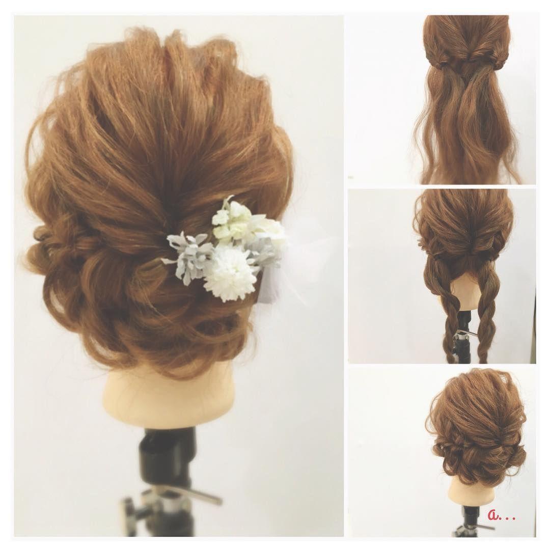 これ自分でやったの♡」ドレス別・結婚式お呼ばれヘアアレンジ