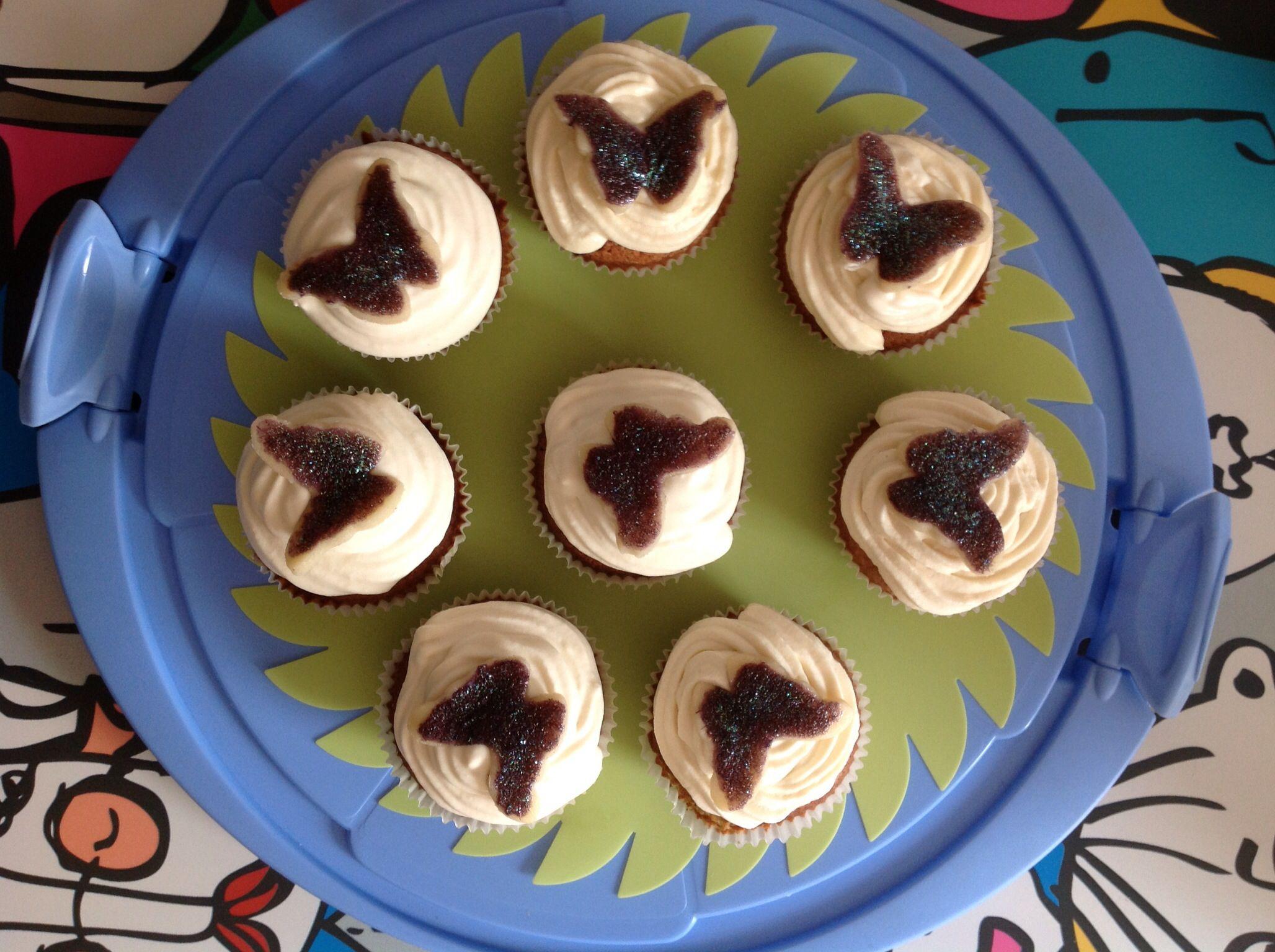 Schmetterling Cupcakes