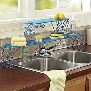 2-Tier Scrolled Over-the-Sink Shelf from Seventh Avenue ® | DI64903