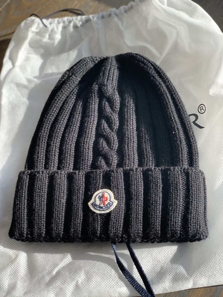 Black Moncler Hat Fashion Clothing Shoes Accessories Mensaccessories Hats Ebay Link Hats Knitted Hats Moncler