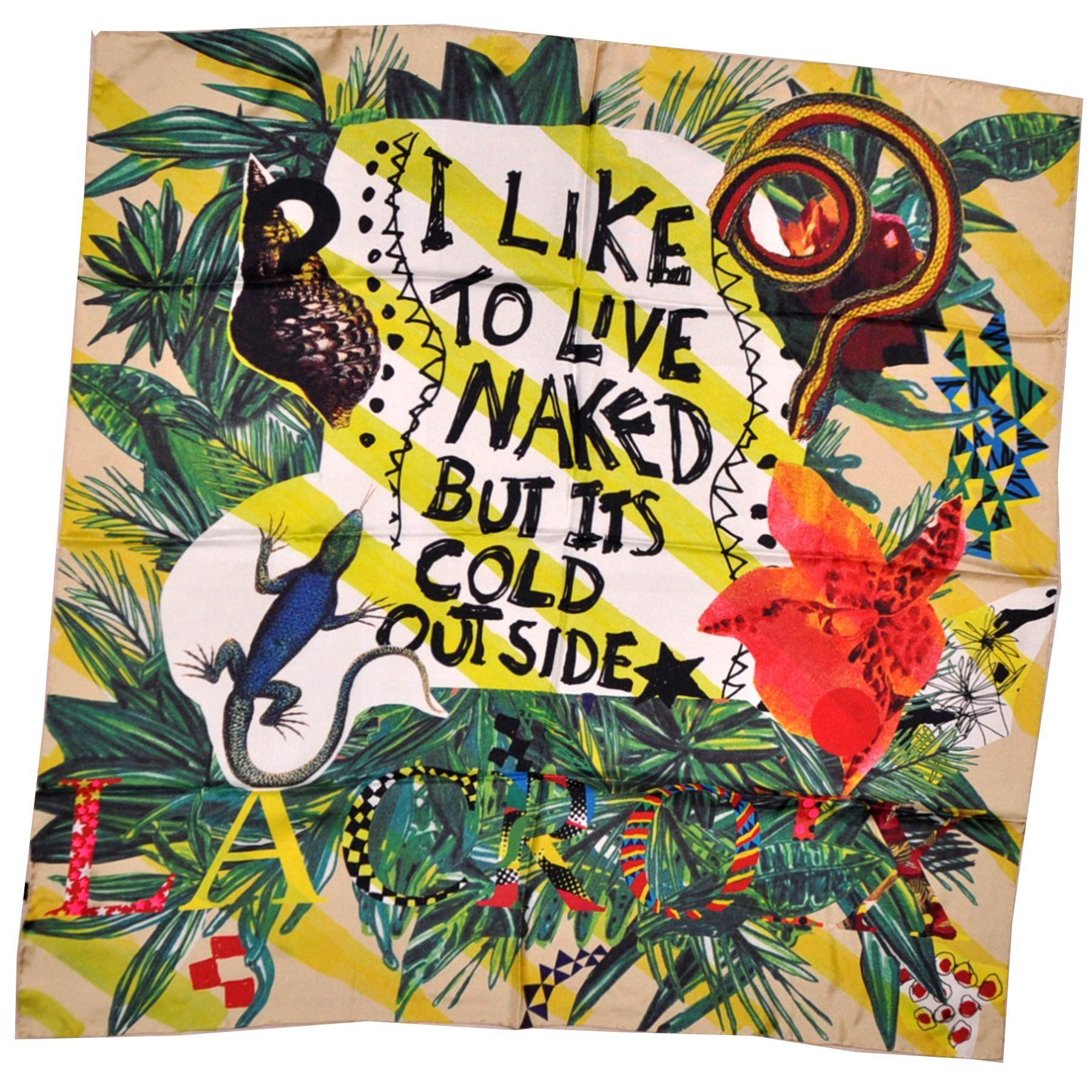 c4eae898ed27 Christian Lacroix Scarf Its Cold Outside Large Twill Silk Square Scarf