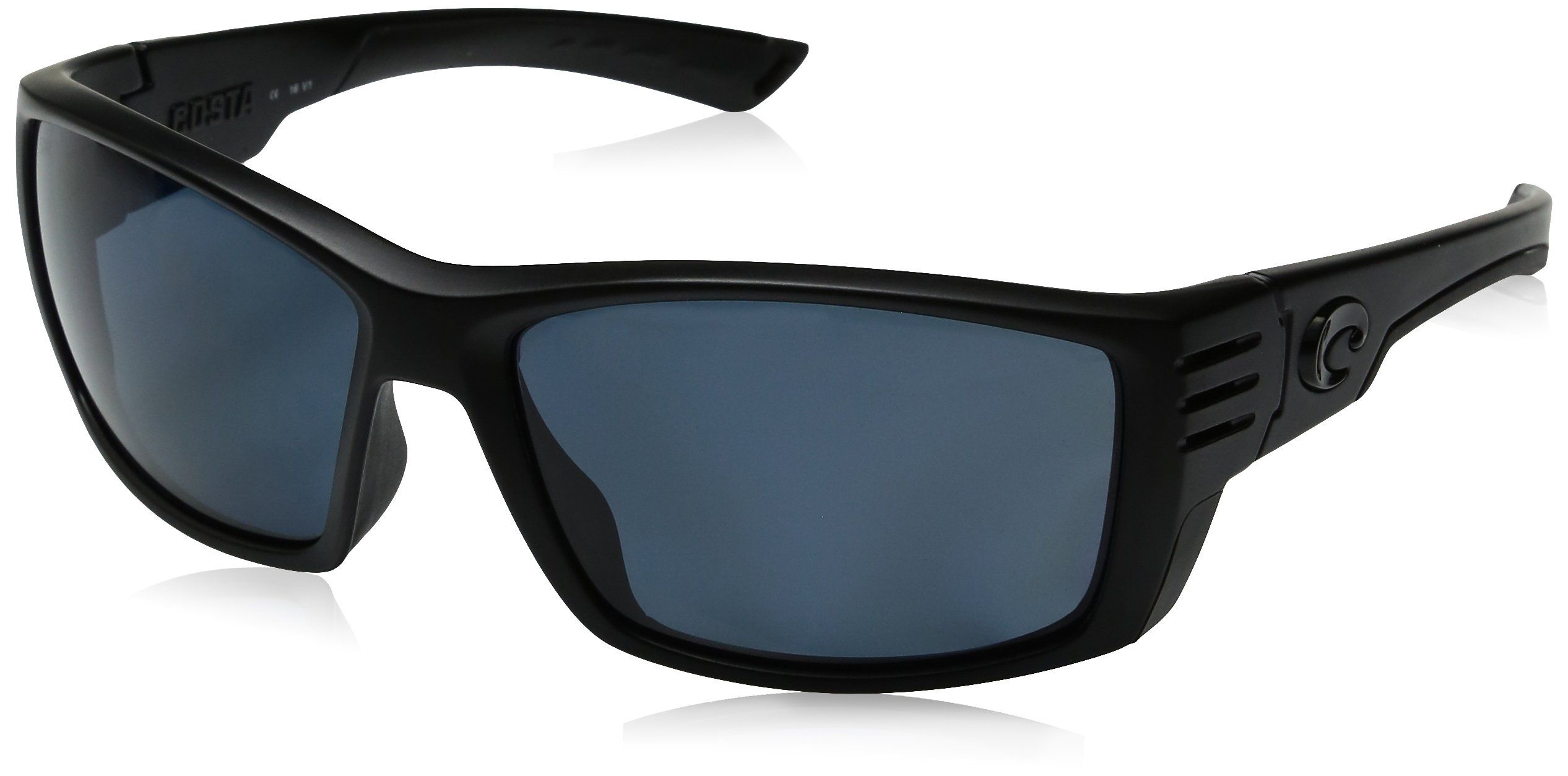 720b61d0fc6 Costa Del Mar Cortez Sunglasses CZ 01 OGP Blackout Gray 580 Plastic ...
