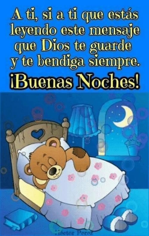 Via Awwmemes Com Mensajes De Feliz Noche Buenas Noches Frases Buenas Noches Osito