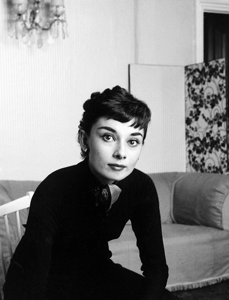 Audrey Hepburn photographed at her London home for the Sunday ...