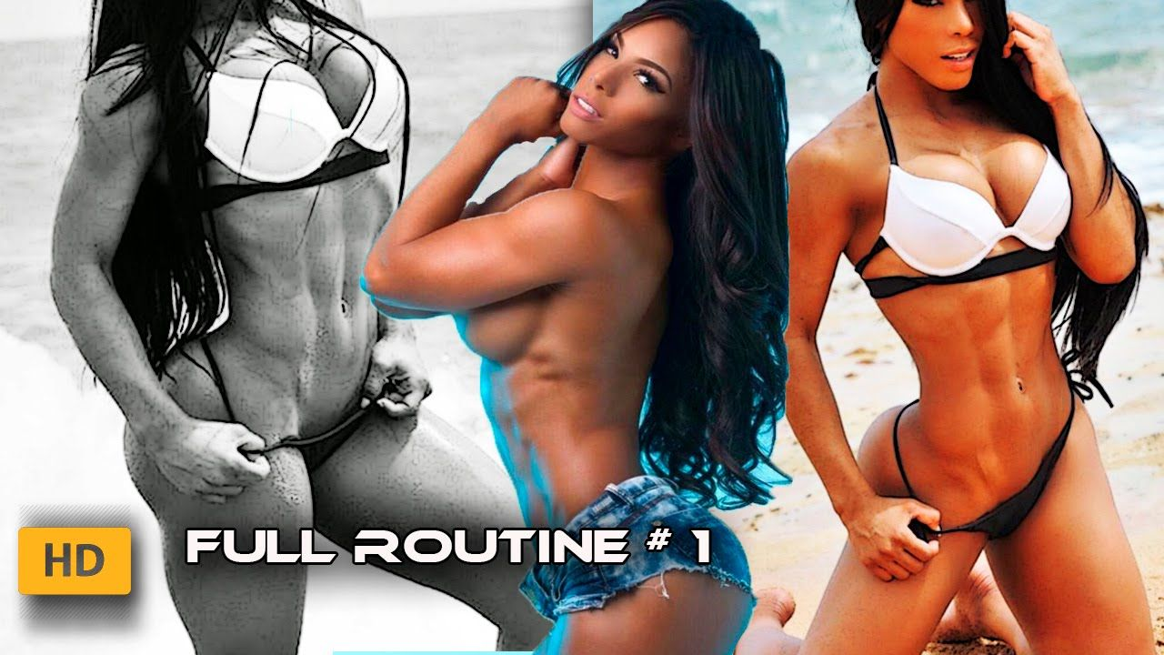 Yarishna Ayala Ifbb Bikini Pro Full Body Workout Routine For Women