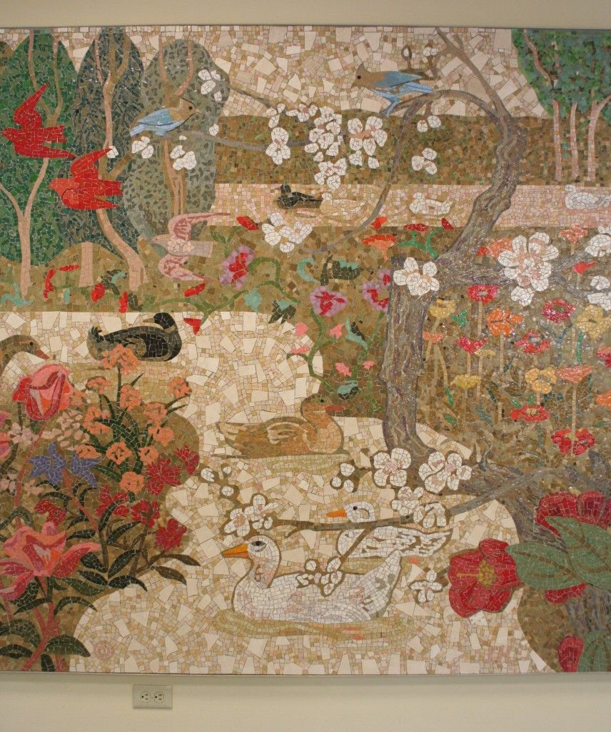 mosaic by denis o\'connor, former home savings, la cañada-flintridge ...