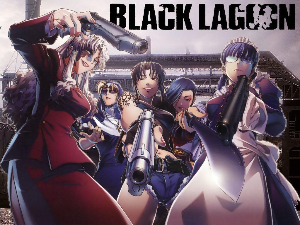 Black Lagoon ブラックラグーン レヴィ ヨルムンガンド アニメ