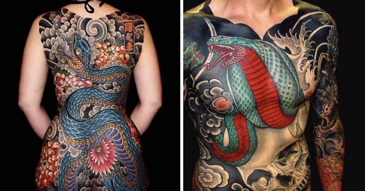 16 Fascinating Japanese Yakuza Tattoos And Their Hidden