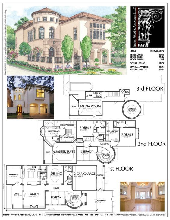 2 1 2 Story Urban Home Plan Ad5240 Dream House Plans City House House Plans