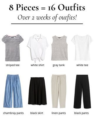 The Essential Capsule Wardrobe Summer 2019 Preview: 10 Outfits #travelwardrobesummer
