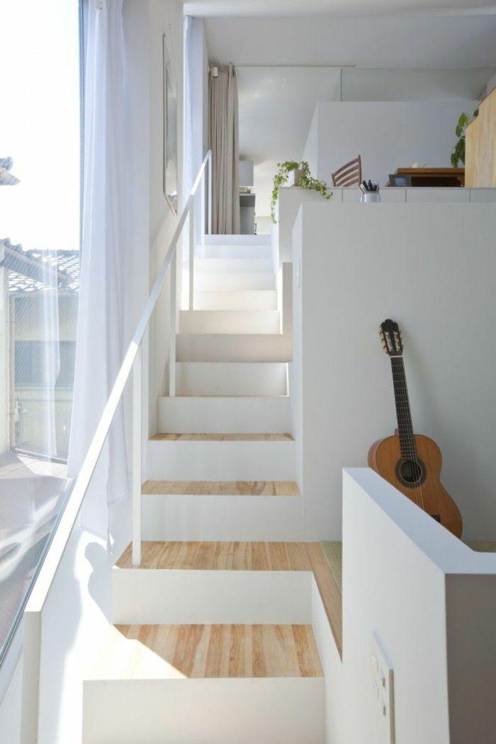 design d 39 int rieur styl avec le tableau triptyque treppen pinterest verre. Black Bedroom Furniture Sets. Home Design Ideas