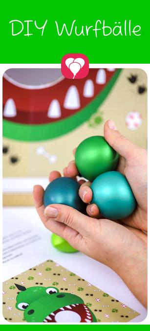 Dino Spiel für den Kindergeburtstag – balloonasBlog