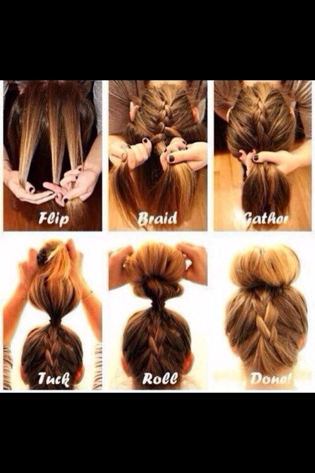 Quick Lazy Girl Hair Styles Cute Hairstyles Quick Hairstyles Easy Hairstyles
