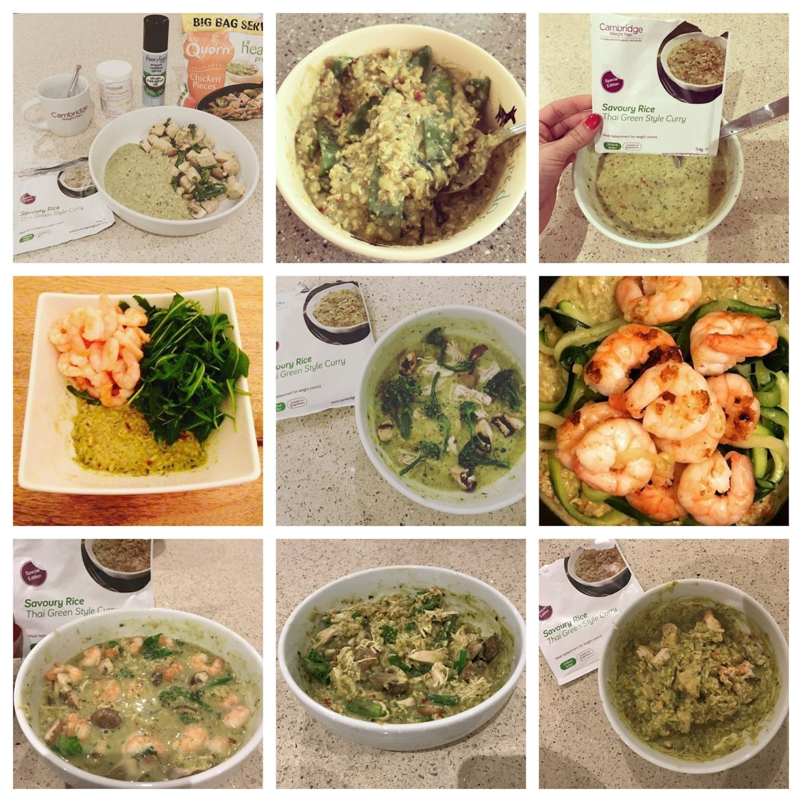 Thai Week Mix It Up Thai Green Style Curry Healthy Recipes
