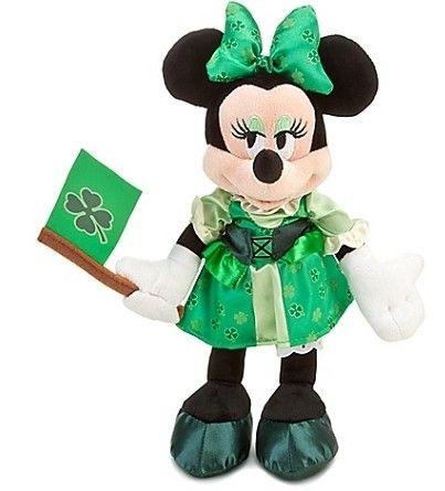 Disney Plush - St. Patrick's Day - Minnie Mouse Plush Toy. Order here >> http://www.qa-toy.com/productshow/?1583-21-DisneyPlush-St.Patrick'sDay-MinnieMousePlushToy.html