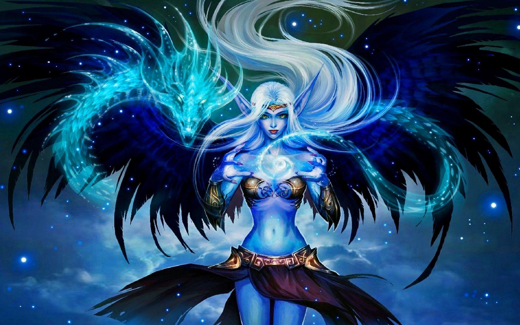 Morgana Wallpapers Epic Art Fantasy Art Angels League Of Legends