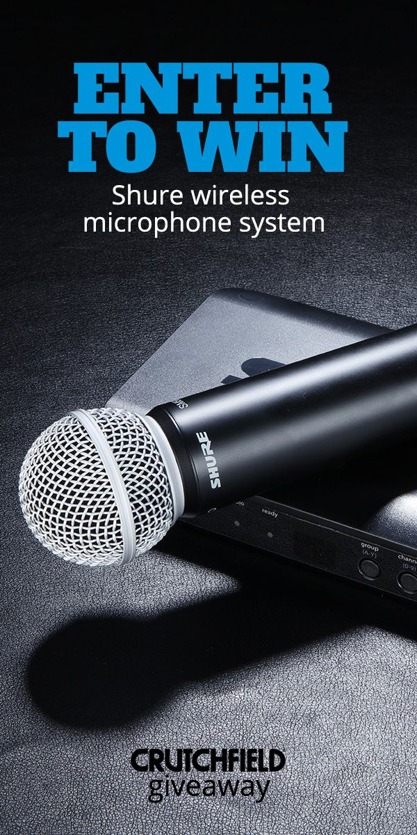 Shure wireless microphone giveaway | MAY 2019 GIVEAWAYS