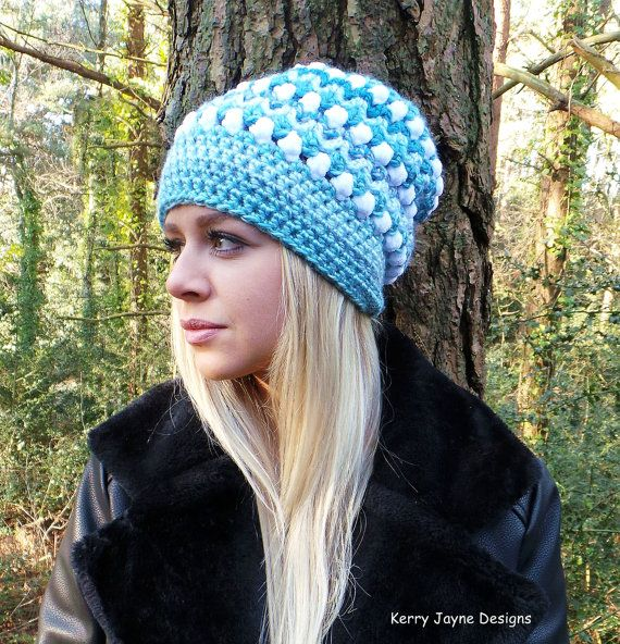 Sky Fall Crochet Hat Pattern Slouch Hat Pattern Womens Hat Pattern