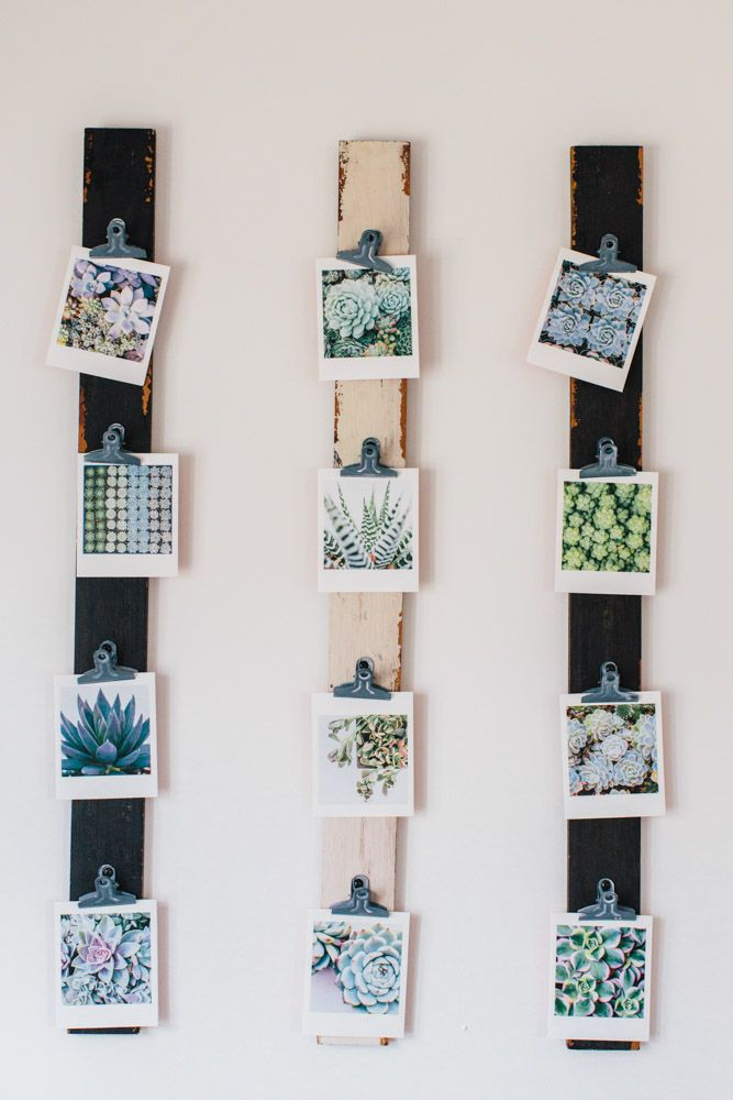 10 Unique Ways to Display Photos | Farmhouse design, East coast and ...
