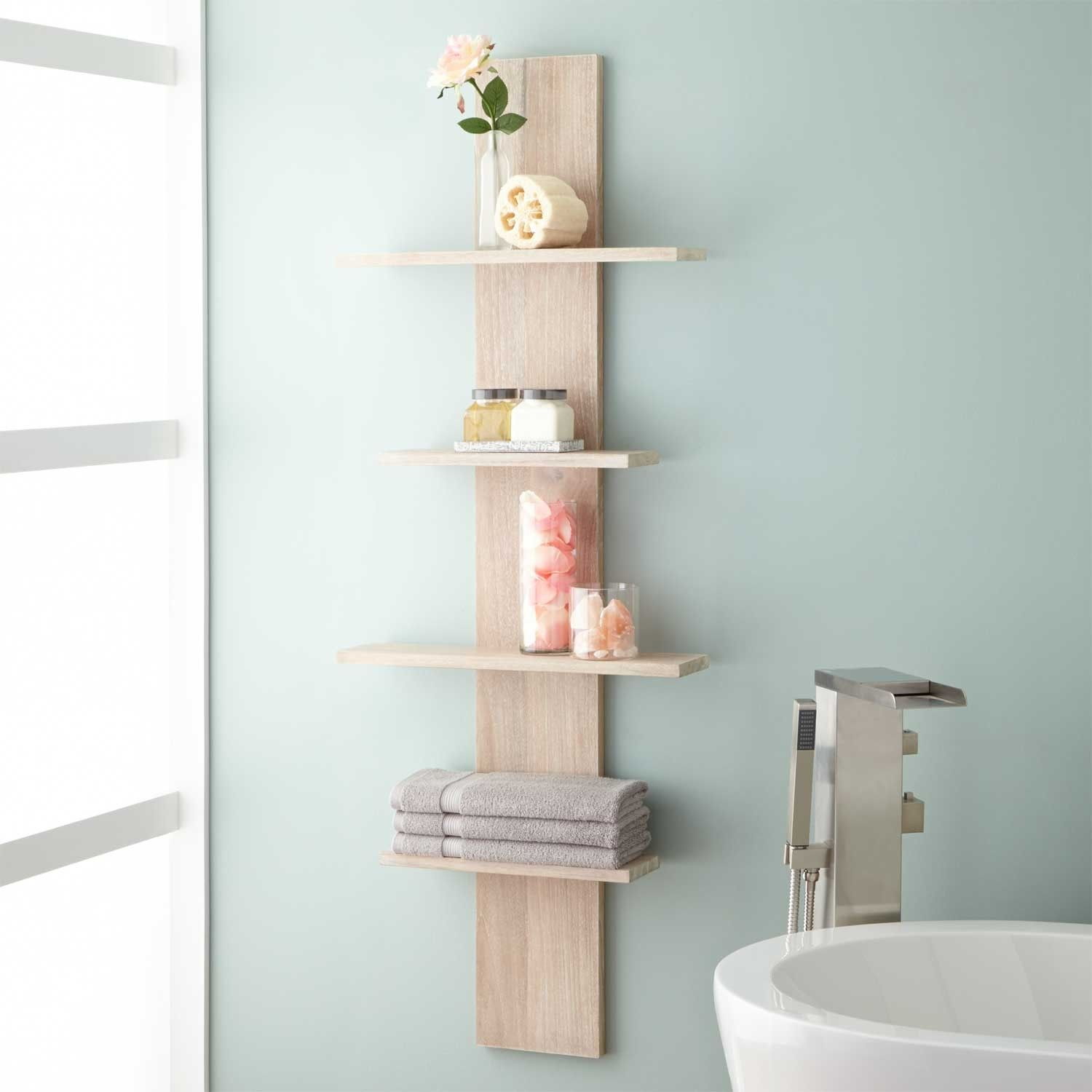 Wulan Hanging Bathroom Shelf Four Shelves