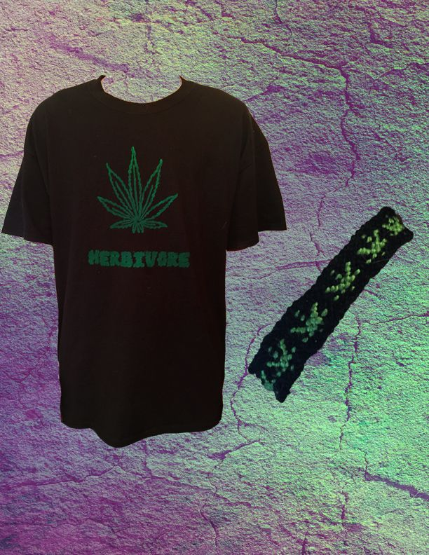 Check out the 420 Friendly Pot leaf t-shirt and bracelet available at SalTeam6 on Etsy.com  www.etsy.com/shop/salteam6
