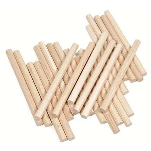 West Music 6 Inch Lummi Sticks, 12 Pair  12 Pairs of 6 inch Lummi Sticks  3/4in Thick - Thicker than standard rhythm sticks  All Natural Wood - No paint or chemical finish  Sanded smooth  Great for many classroom activities!