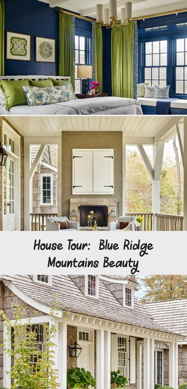 House Tour: Blue Ridge Mountains Beauty - Design Chic Design Chic #HouseDesignInteriorLivingRoom #HouseDesignInteriorSquareFeet #HouseDesignInteriorBoho #HouseDesignInteriorBar #HouseDesignInteriorGrey