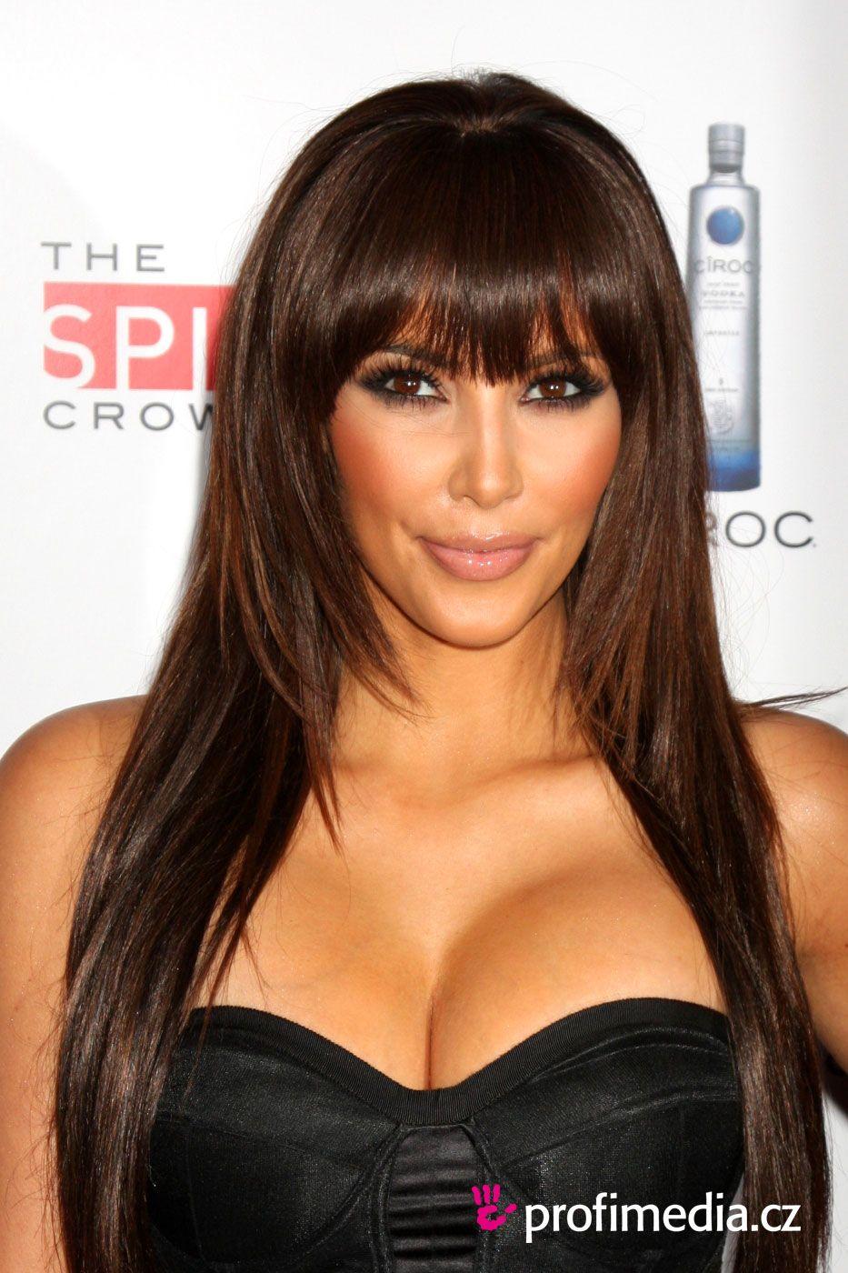 Kim Kardashian | Peinado de - Kim Kardashian - Kim Kardashian | MODA ...
