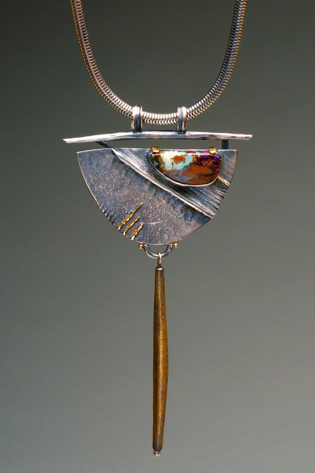 designerjewelry Metal clay jewelry, Clay jewelry