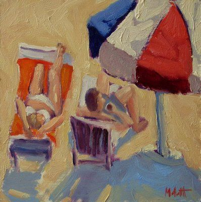 """Beach Paintings""   Figurative"