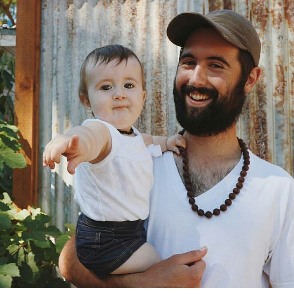 The Free Birds - Little Sunshine Boutique: Our Shop. teething necklace for dads