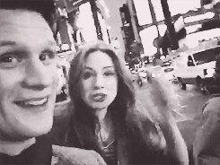 Matt and Karen selfie/A Doctor a Day