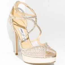 Jimmy Choo Crystal-Embellished Mesh Sandals discount enjoy cheap hot sale prices for sale cheap sale in China low price cheap price UkF3pD9