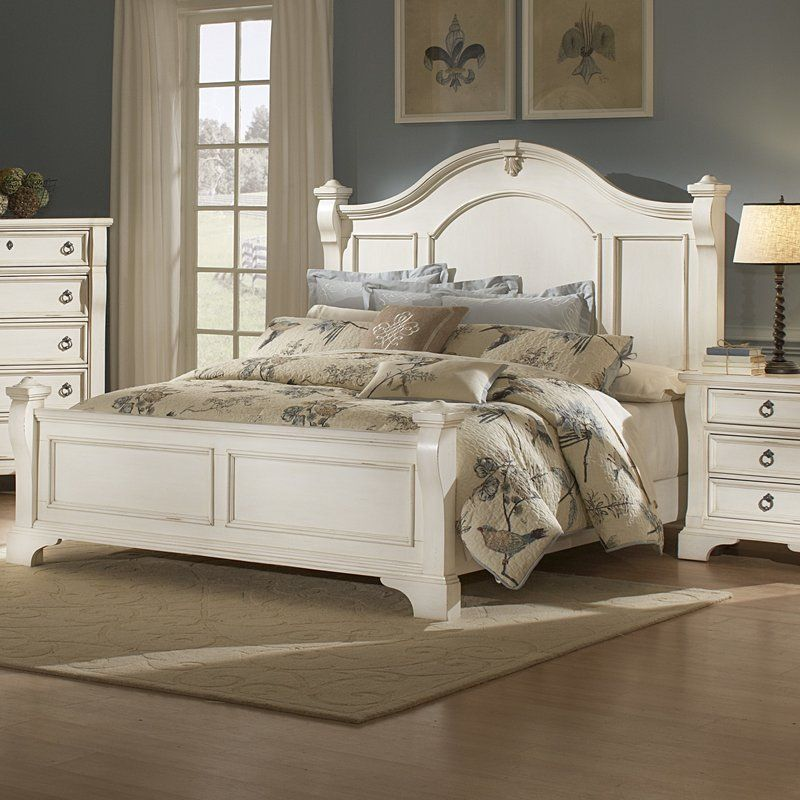 Rosehill Standard Configurable Bedroom Set Distressed White