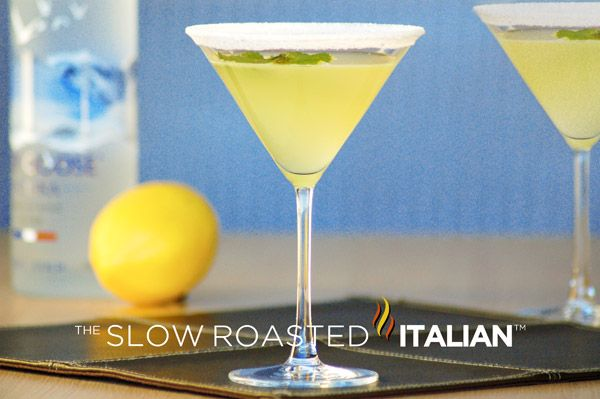 The Slow Roasted Italian: Legends Lemon Drop Martini - The fabulous Lemon Drop Martini served at the Legends Ball by Oprah Winfrey, sweet and sour just like eating the candy.