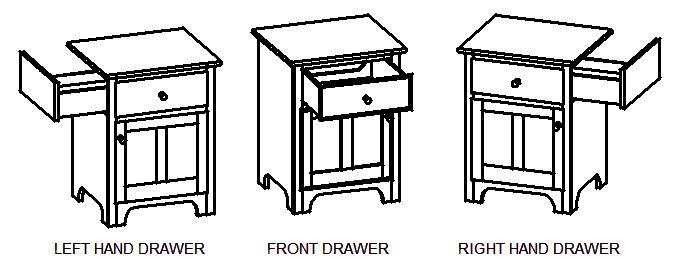 Denny Allen Cabinets--nightstand to hide CPap machine
