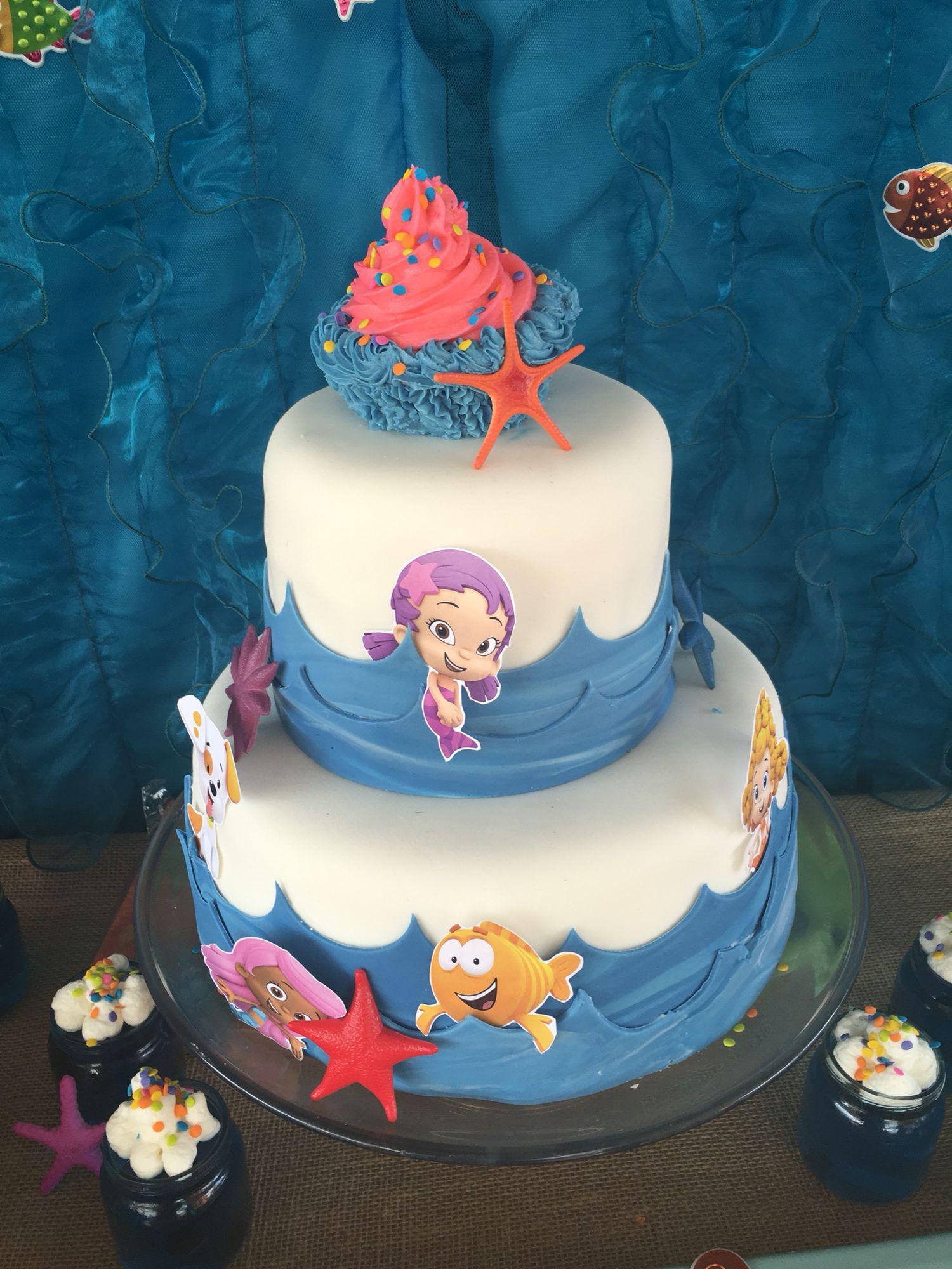 Bubble guppies cake Bubble guppies cake, Cake