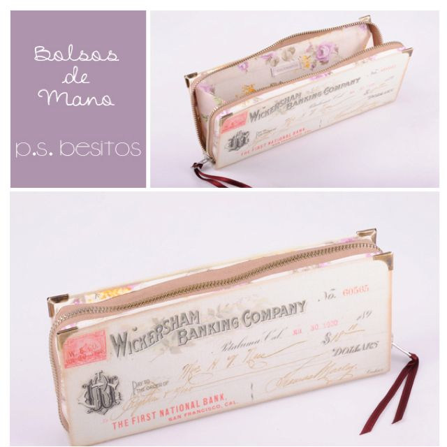 Book purse by P.S. Besitos