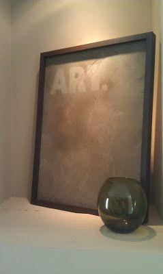 Framed Concrete Art