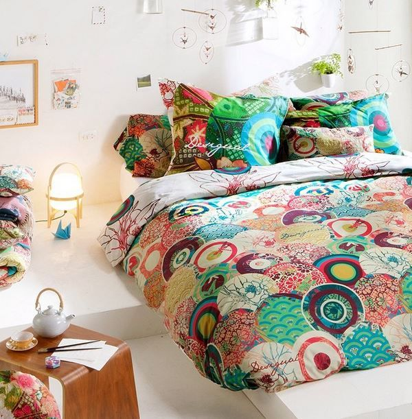 All decor decoration bedrooms and bohemian - Desigual home decor ...