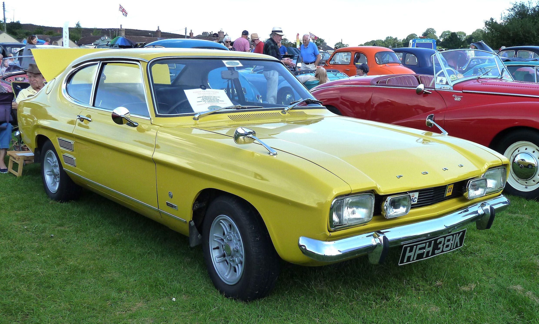 1971 Ford Capri 1600gt Mki 1 6l Four Cylinder Ford Kent Ohv Engine