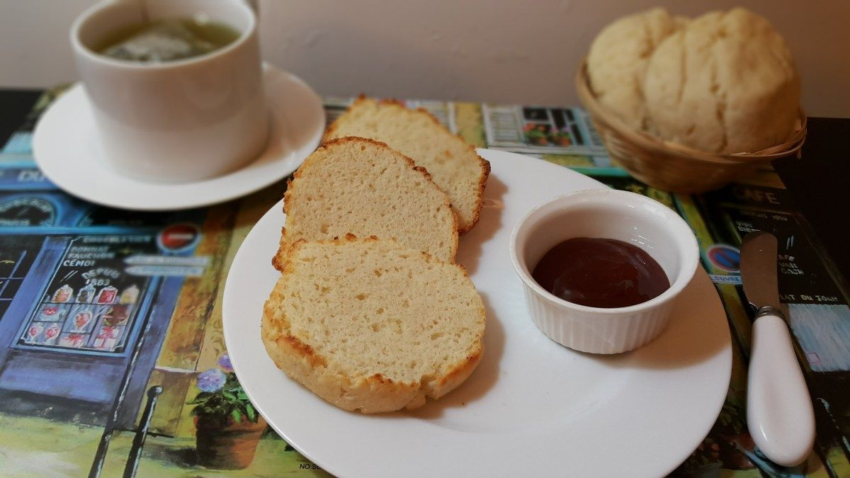 Unos ricos pancitos sin gluten. Si no tenes la premezcla de panadería en tu casa, proba esta receta quedan ríquisimos y son muy simples! Haciendo tu propia premezcla! Apto para celíacos.  Receta: www.smileybelly.com