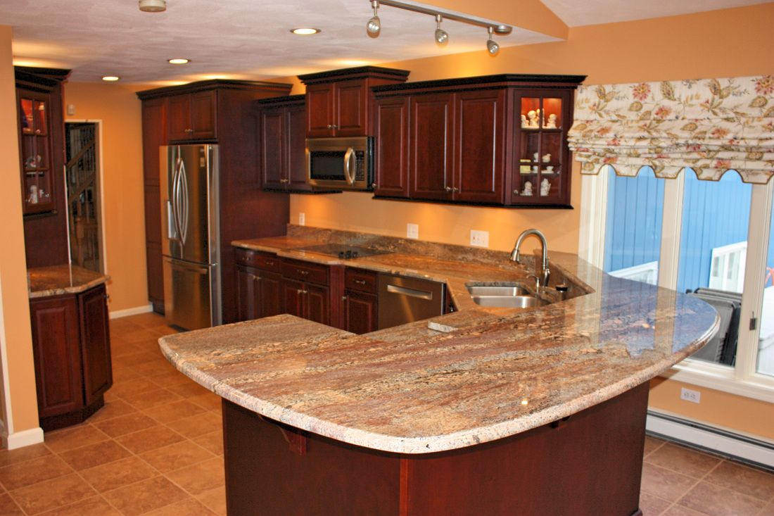 Crema Bordeaux Kitchen 2 Countertops By Superior Kitchen Complete Kitchens Kitchen Projects