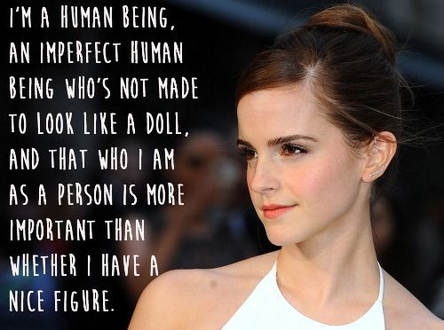 Who I am as a person is more important - Emma Watson
