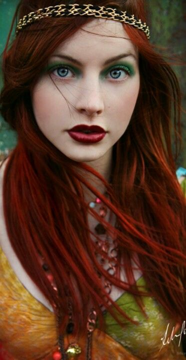 Red Haired Beauty Hair Colour For Green Eyes Hair Color Red