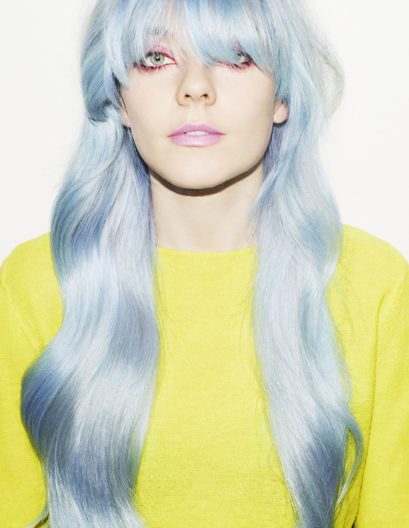 Undercover Beauty 5 Makeup Counter Makeovers Pastel Blue Hair